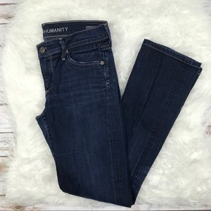 Citizens of Humanity Low Rise Straight Leg Jeans